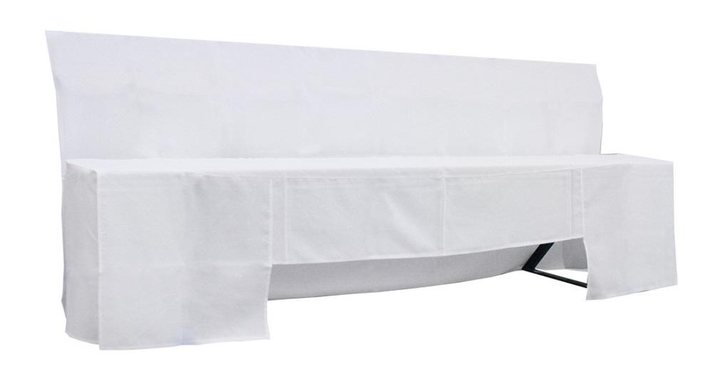 husse f r bierbank mit lehne. Black Bedroom Furniture Sets. Home Design Ideas
